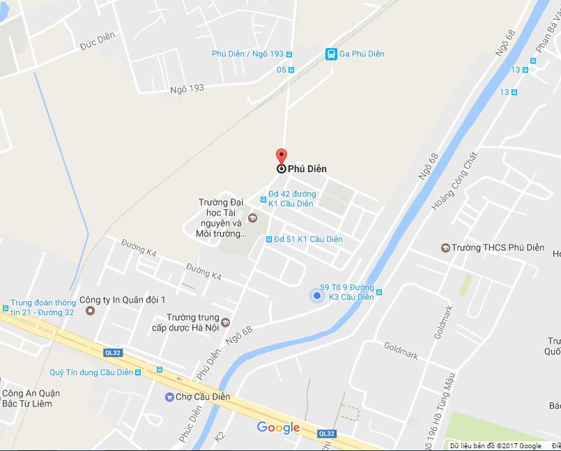 Bản đồ địa chỉ công ty