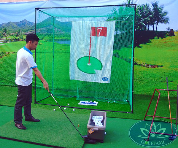 Bộ khung tập golf Gomik56-2