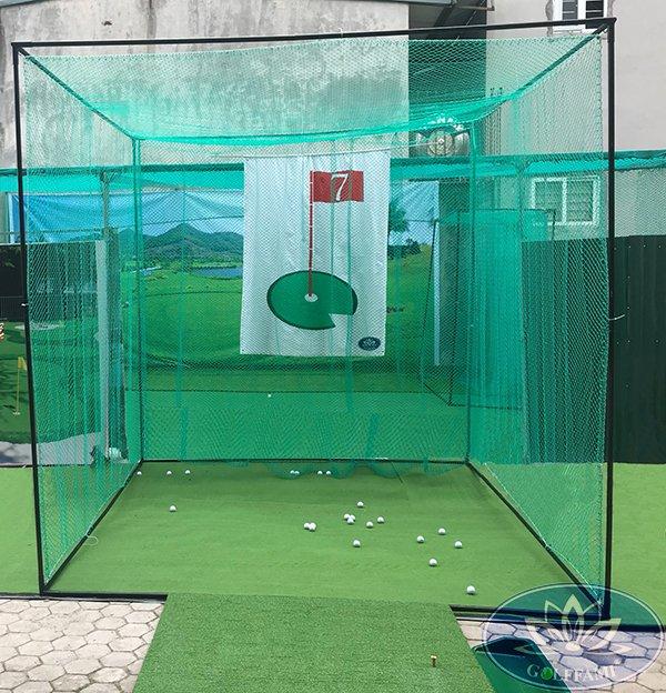 Bộ khung tập golf và lưới Gomik51-2