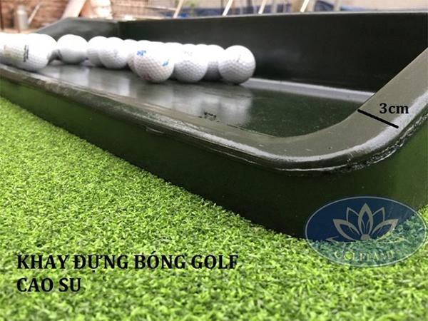 Khay đựng bóng golf cao su Gomik04