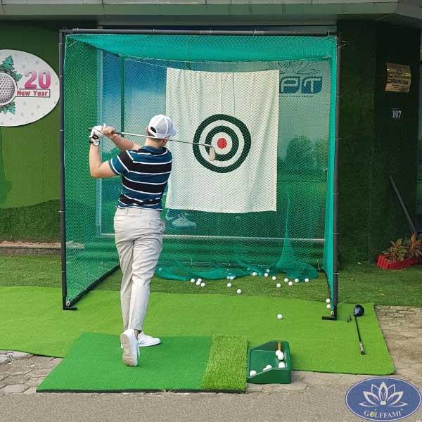 Khung tập golf Gomik52 ảnh thật