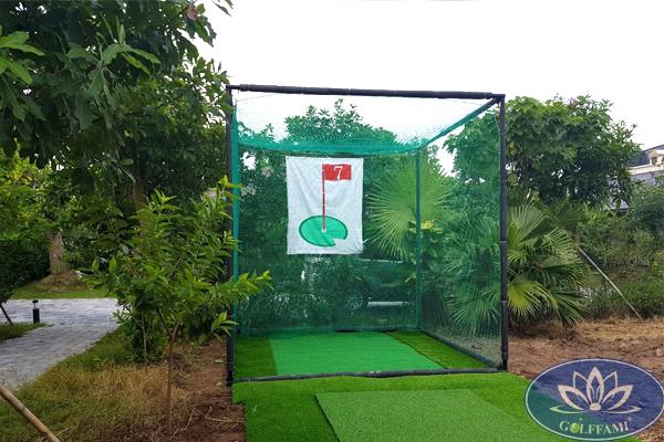 Khung tập golf swing đơn 2m