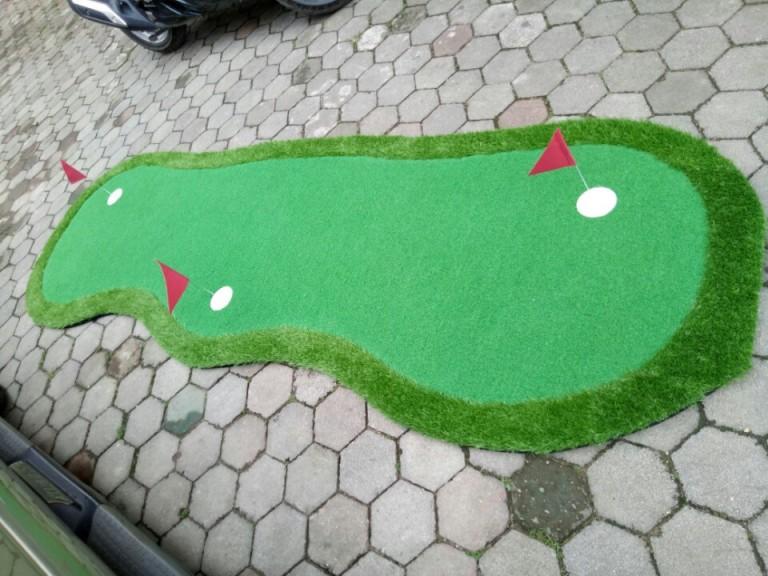 Thảm tập putting golf 3 lỗ GP02