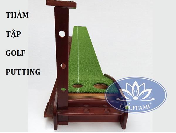 Một số ưu điểm của thảm tập Golf Putting gỗ Gomi23