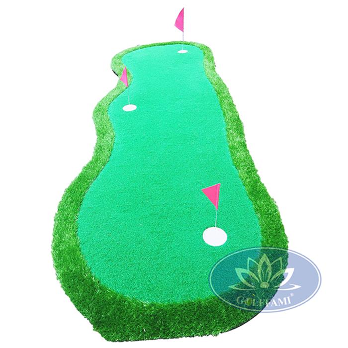 Thảm tập putting golf 3 lỗ Gomi26