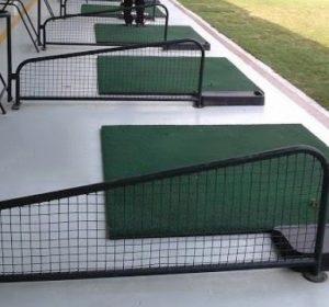Vách ngăn sân tập golf của Golffami