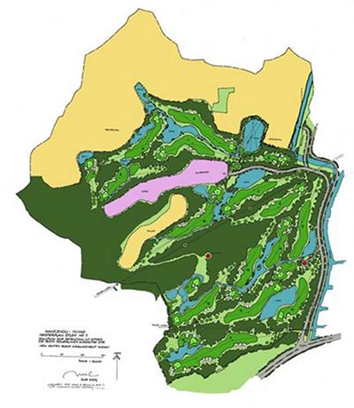 Bản thiết kế sân golf