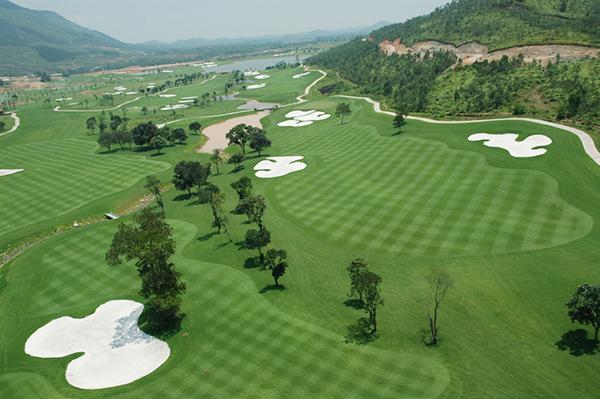 Sân golf hoàn thiện