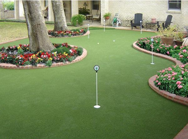 Thiết kế sân golf mini trong nhà đẹp