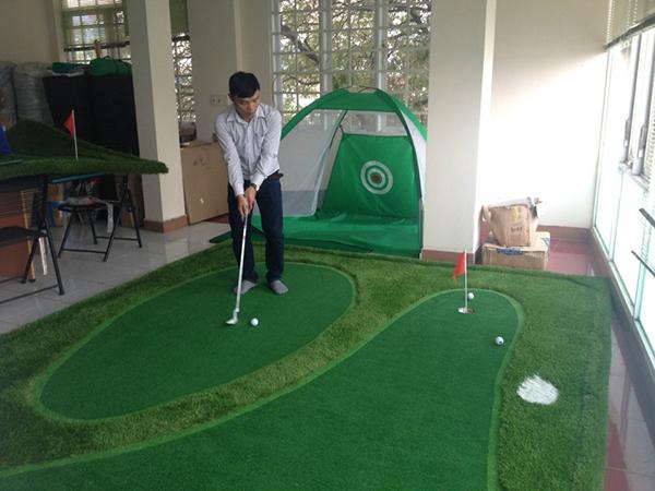 Sân golf mini trong nhà mua ở đâu tốt