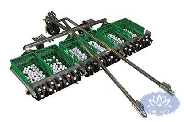 Xe nhặt bóng golf Gomix01 gắn động cơ công xuất lớn