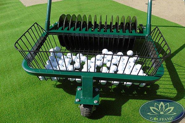 Hình ảnh Xe nhặt bóng golf