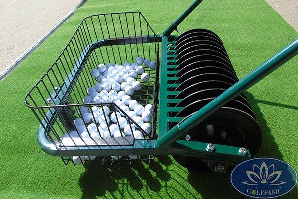 Một số Hình ảnh Xe nhặt bóng golf