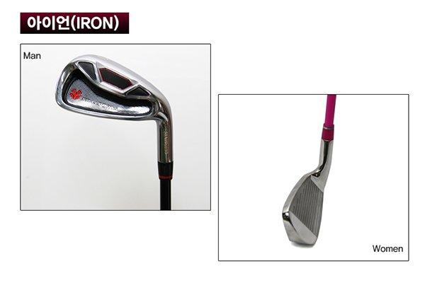 Bộ gậy golf Hàn Quốc GomiG01 gậy sắt