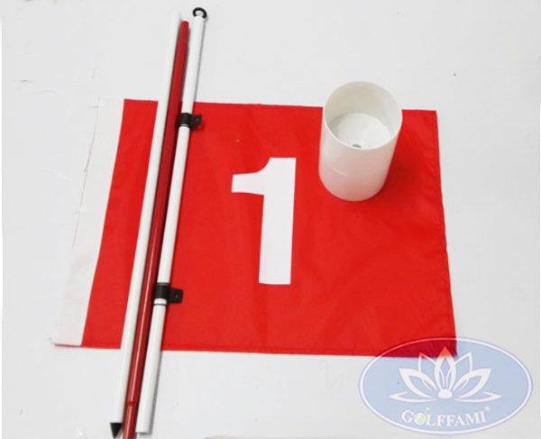 Bộ lỗ cờ golf nhựa ngoài trời GOMILG01