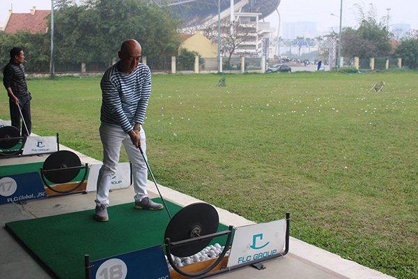 Sân tập FLC golf Net