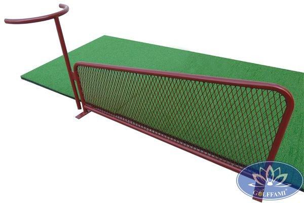Vách ngăn sân tập golf sắt không gương GOMIVG06