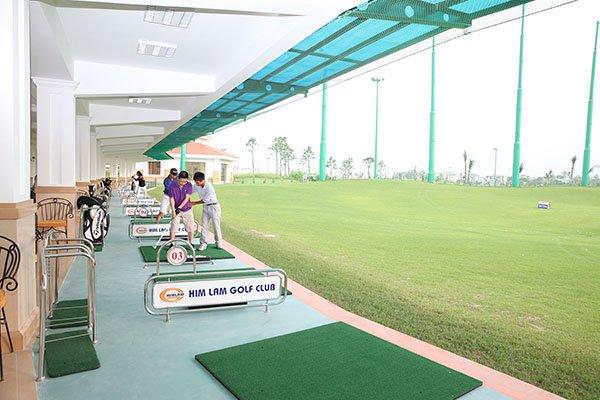 các sân tập golf Sài Gòn