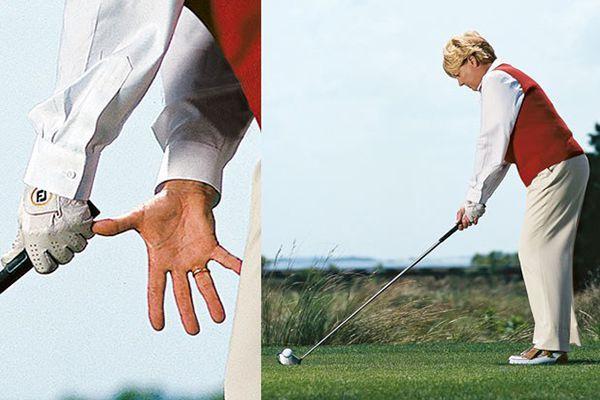 Cách cầm gậy golf driver chuẩn