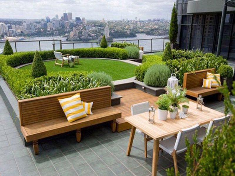Thiết kế cảnh quan sân vườn chung cư