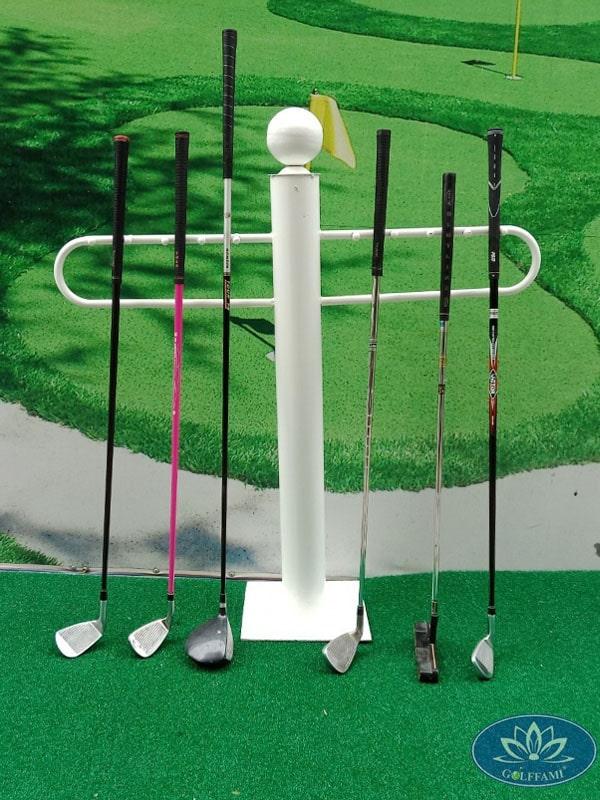 Giá để gậy golf Gomiga4 vô cùng tiện dụng
