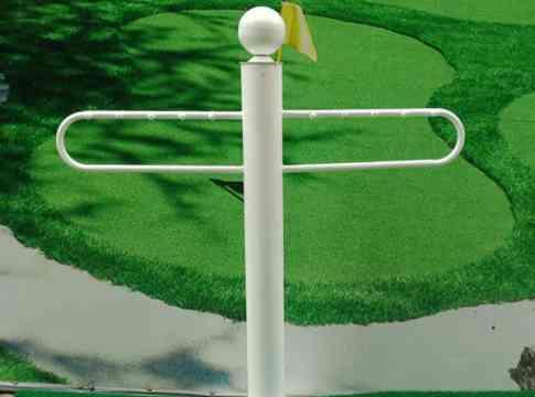 Giá để gậy golf Gomiga4 màu trắng sang trọng