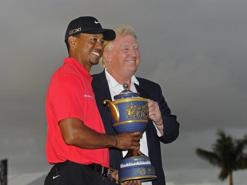 Tiger woods nhận huân chương danh dự từ tổng thống Mỹ