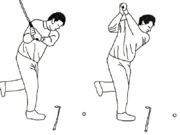 giu can bang khi swing de cai thien kha nang choi golf min Một vài cách tăng cao khả năng chơi gôn xuất sắc nhất
