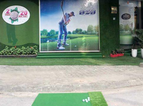 Thảm tập golf Swing Mat Gomit19 ảnh thật